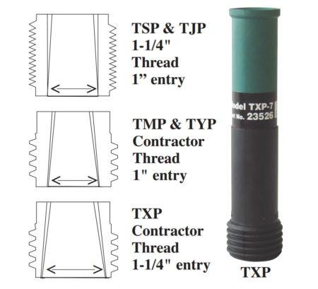 Clemco Tungsten-Carbide-Lined Long-Venturi-Style Blast Nozzle
