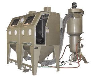 BNP Double 65 Pressure Blast Cabinet