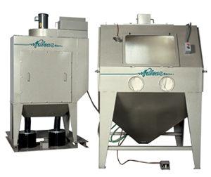 Pulsar IX Suction & IX-P Pressure Blast Cabinets