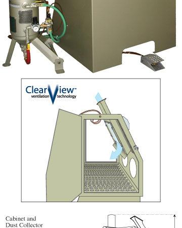 The Bicarbonator Soda Blast Cabinet