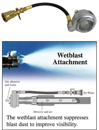 Wetblast Attachment
